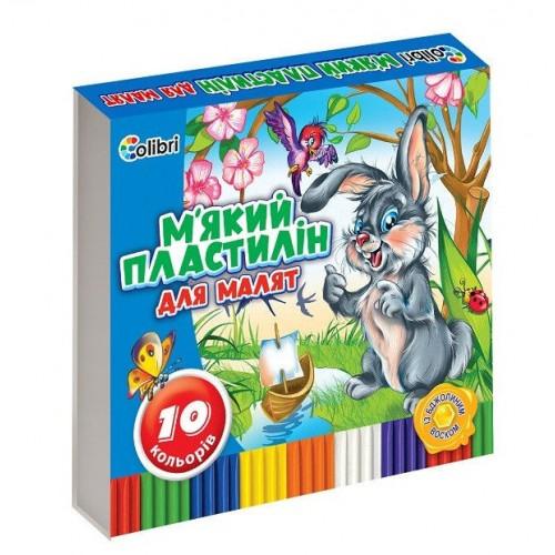 Пластилін Кроха з воском 10 кольорів Міцар