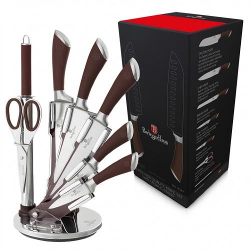 ВН-2047 Infinity Line Набір ножів на підставці 8 пр.