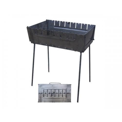 Мангал валіза на 8 шампурів УК-М8