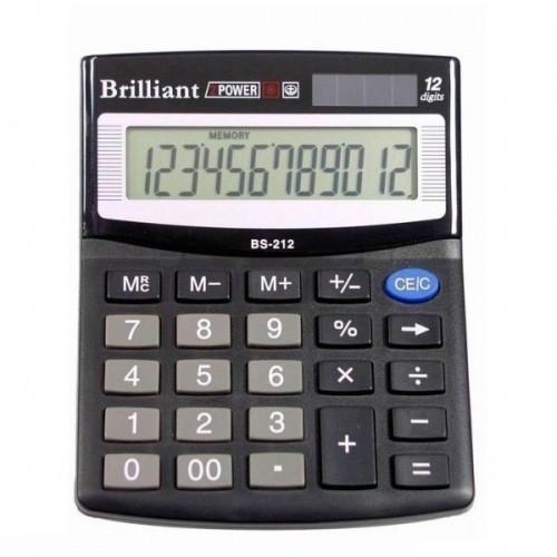 Калькулятор електронний Brilliant 12-розрядний BS-212