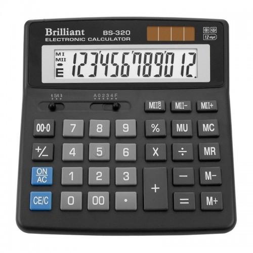 Калькулятор електронний Brilliant 12-розрядний BS-320