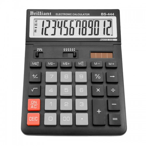 Калькулятор електронний Brilliant 12-розрядний BS-444