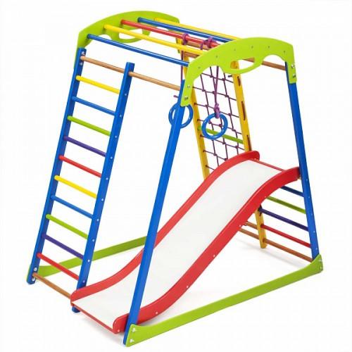Дитячий спортивний комплекс для дому SportWood Plus 1