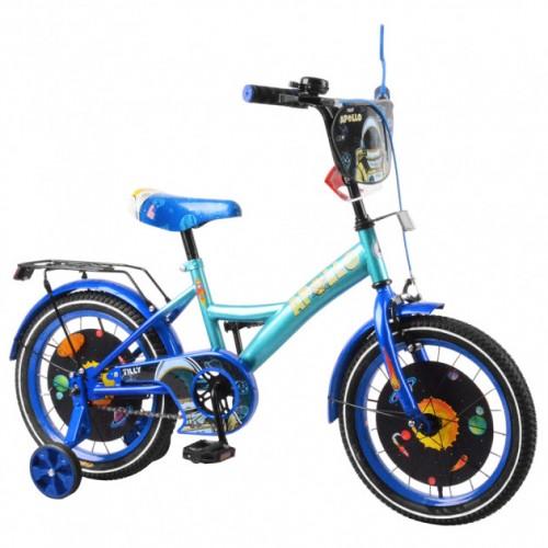 """Велосипед дитячий двоколісний Apollo 16"""" T-216215"""
