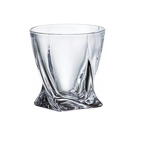 Набір  склянок віскі 340 мл 6 шт  Bohman Quadro