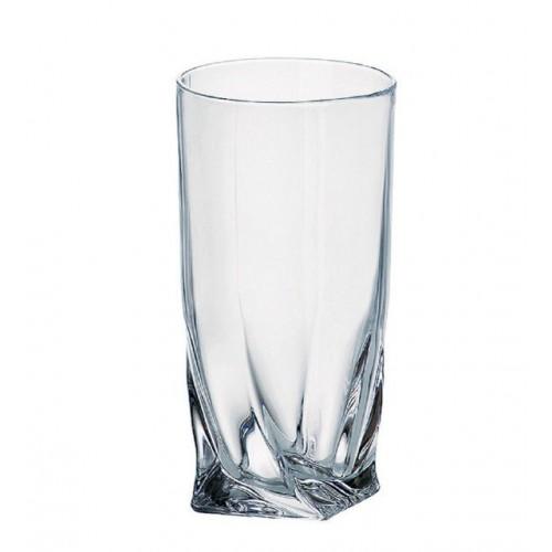 Набір  склянок вода 350 мл 6 шт  Bohemia Quadro
