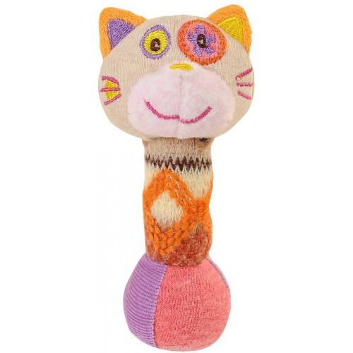 """Іграшка-пищалка """"Маленький котик"""" BabyOno 1250"""