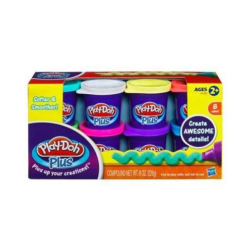 Набір пластиліну 8 баночок, Play-Doh PLUS   A1206