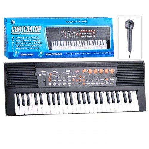 Синтезатор піаніно з мікрофоном XTS-4900