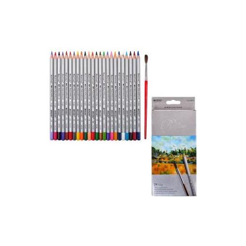 Олівці кольорові 24 шт. MARCO Raffine акварельні 7120-24 СB
