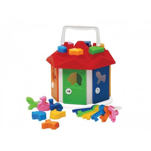 Іграшка Розумний малюк Будиночок ТехноК 2438