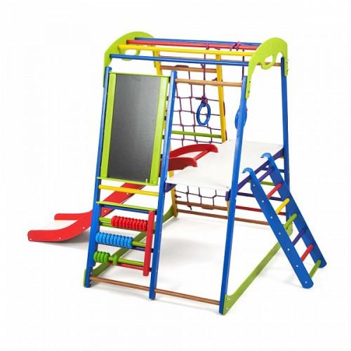 Дитячий спортивний комплекс для дому SportWood Plus 3