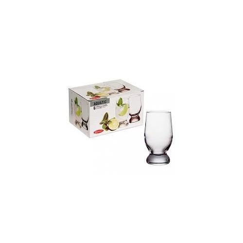 Набір стаканів 265 мл 6 шт Aquatic   42978  ТМ PASABAHCE