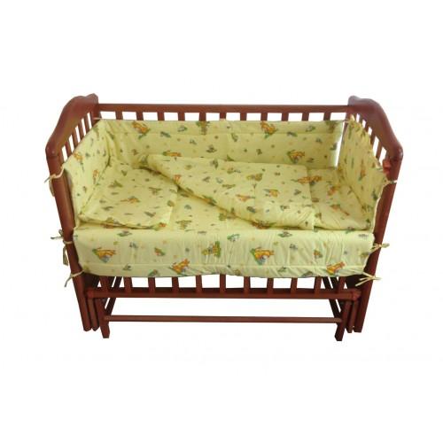 Комплект в ліжечко «Амурчик» 6 елементів