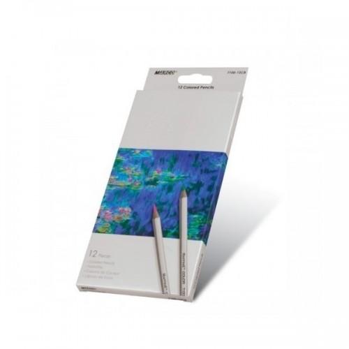Олівці кольорові 12 кольори Marco Raffine 7100-12СВ